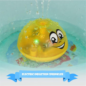 Bath toy with LED light for kids