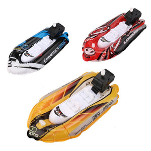 Bath Toys for Children Mini Inflatable Yacht Boat