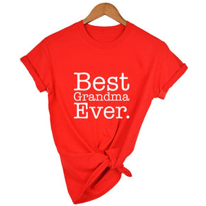 Best Grandma Ever T Shirt