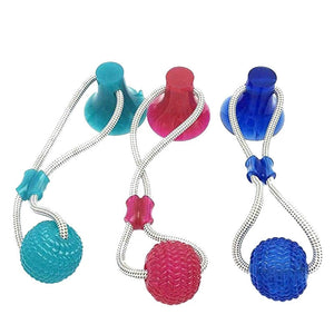 Bite Resistant Rubber Chew Ball for Dogs