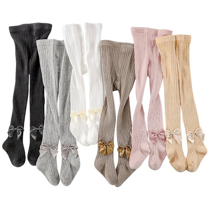 Bowknot Kids Girl Stockings Tights