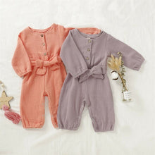 Load image into Gallery viewer, Lovely Baby Girl Long Sleeve Romper Jumpsuit