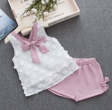 Summer Children's Girls' Clothing Sets
