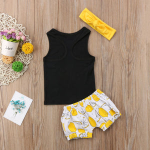 Summer Baby Girl Infant Fashion Outerwear Sets
