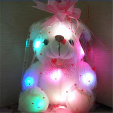 Load image into Gallery viewer, Glowing Luminous Plush Bear Baby Toys
