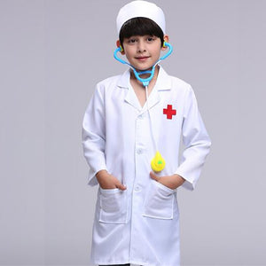 Children Doctor Scrub Costume