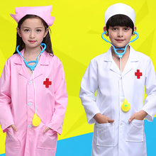 Load image into Gallery viewer, Children Doctor Scrub Costume