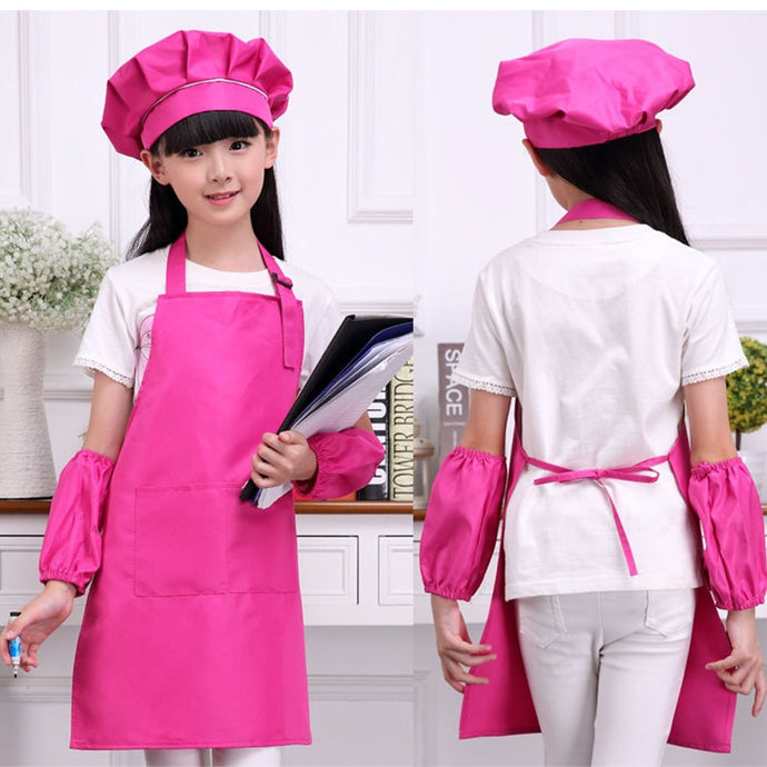 Children Art Kitchen Chef 4 pcs Set