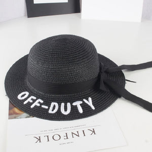 Girls Off-Duty Straw Hat