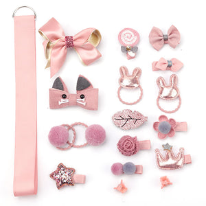Baby Girl 18 pieces Hair Clip