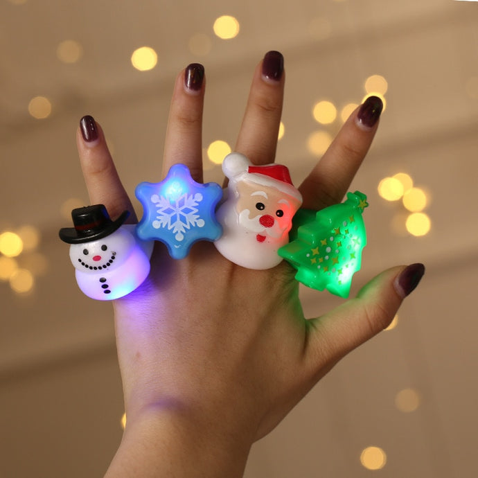 Christmas Gift Merry Christmas Party Finger Lights