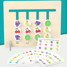 Load image into Gallery viewer, Matching Fruit Wooden Game