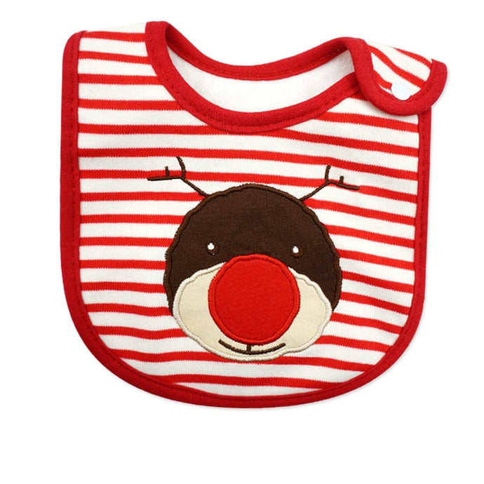 Cotton Christmas Baby Bib Toddler Infant Towels