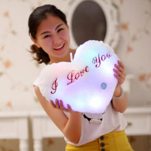Load image into Gallery viewer, Creative Luminous Love Pillow Cushion