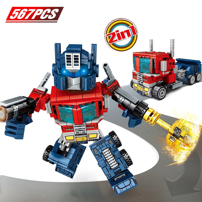 Transformation Robot Truck Bricks