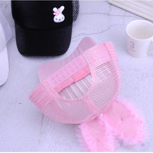 Load image into Gallery viewer, Cute Baby Girl Baseball Cap Glitter Sequin Rabbit Ear