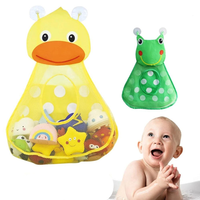 Cute Baby Toy Storage Mesh Bag
