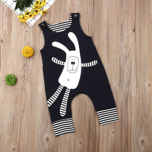 Load image into Gallery viewer, Cute Newborn Baby Unisex Sleeveless Easter Bunny Romper Jumpsuit