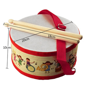 Wood Drum For Kids