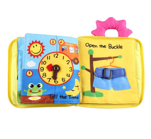 Early Learning Cloth Books for kids