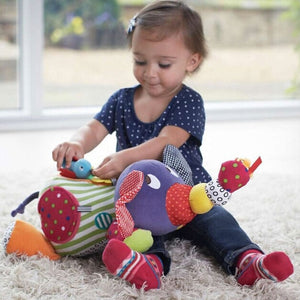 Cartoon Plush Elephant Baby Toys