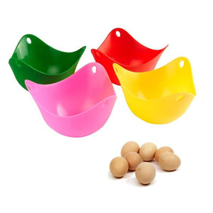 Egg Poacher Mold Bowl Silicone Kitchen Tools