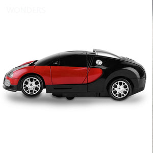 Cool Light Electronic Deformation Music Car Toys