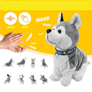 Electronic Robot Dog Plush Toy