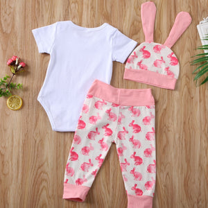 Lovely Bunny Short Sleeve Outfit