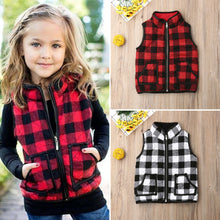 Load image into Gallery viewer, Girls Kids Sweatshirt Outfits Gilet Vest