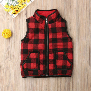 Girls Kids Sweatshirt Outfits Gilet Vest