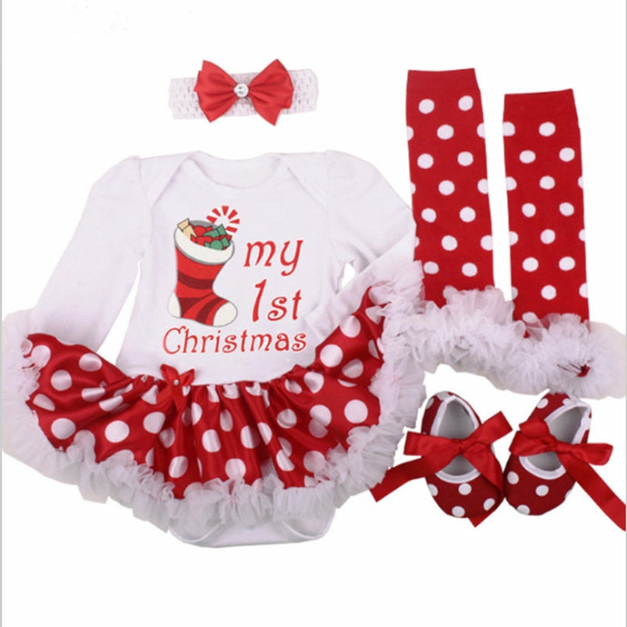 Clothing Party Tulle Kids Christmas Costume