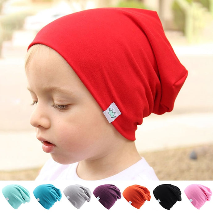 Cute Solid Knitted Cotton Hats