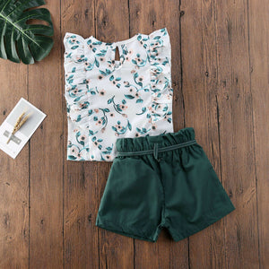 Fashion Infant Baby Girls Summer Clothes