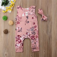 Load image into Gallery viewer, Floral Baby Girls Clothing Sets