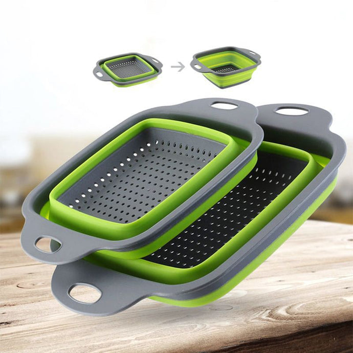 Collapsible Strainer Basket
