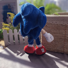 Load image into Gallery viewer, Blue Sonic Plush Toy