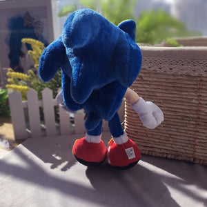 Blue Sonic Plush Toy