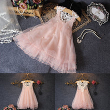 Load image into Gallery viewer, Tutu Flower Lace Princess Dress