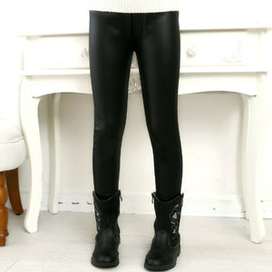 Girls Leather Pants