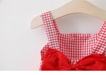 Load image into Gallery viewer, Chequered Summer Dress and Hat