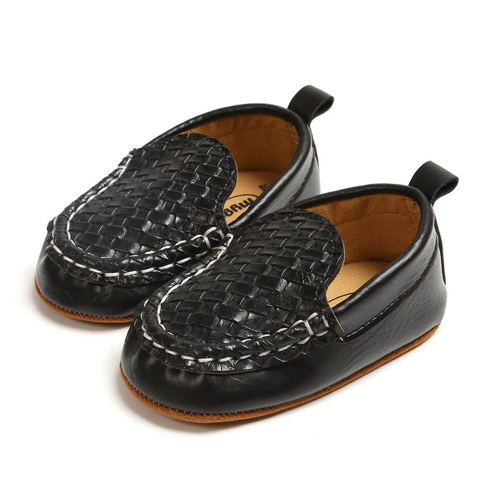 Baby Boys Moccasin Leather Shoes
