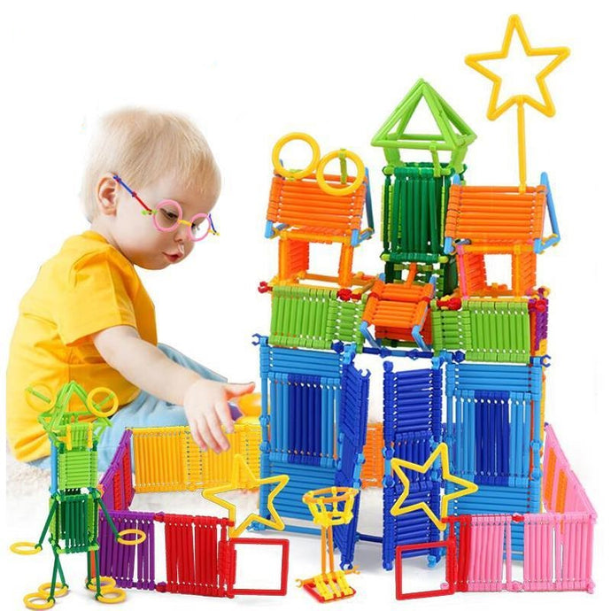 120/240Pcs Assembled DIY Building Blocks