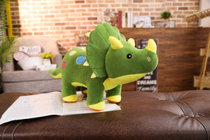 Big Soft Triceratops Plush Toy