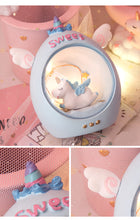 Load image into Gallery viewer, Mini Unicorn Lamp in the Cube