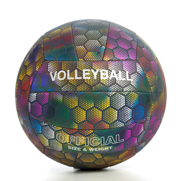 Glowing Reflective Volleyball