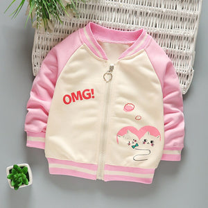 Baby Jacket Clothing Spring And Autumn Boys Girls