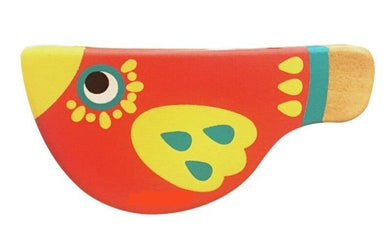 Wooden Baby Musical Whistle Bird Toy