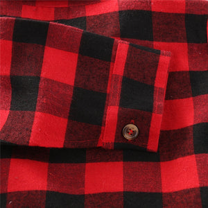 Long Sleeve Plaid Shirts