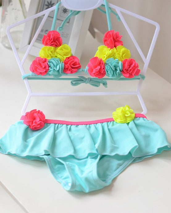 Floral Cute Two-Pieces Bikini Sets